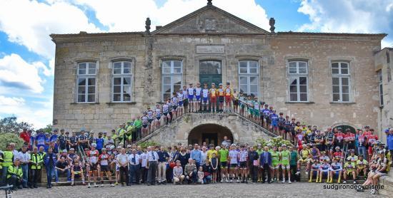 Tour des ecureuils 2017 2eme etape bazas beaulac 016